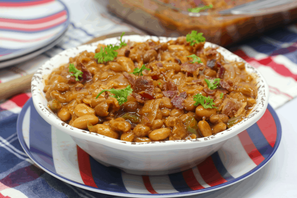 bbq baked beans with bacon