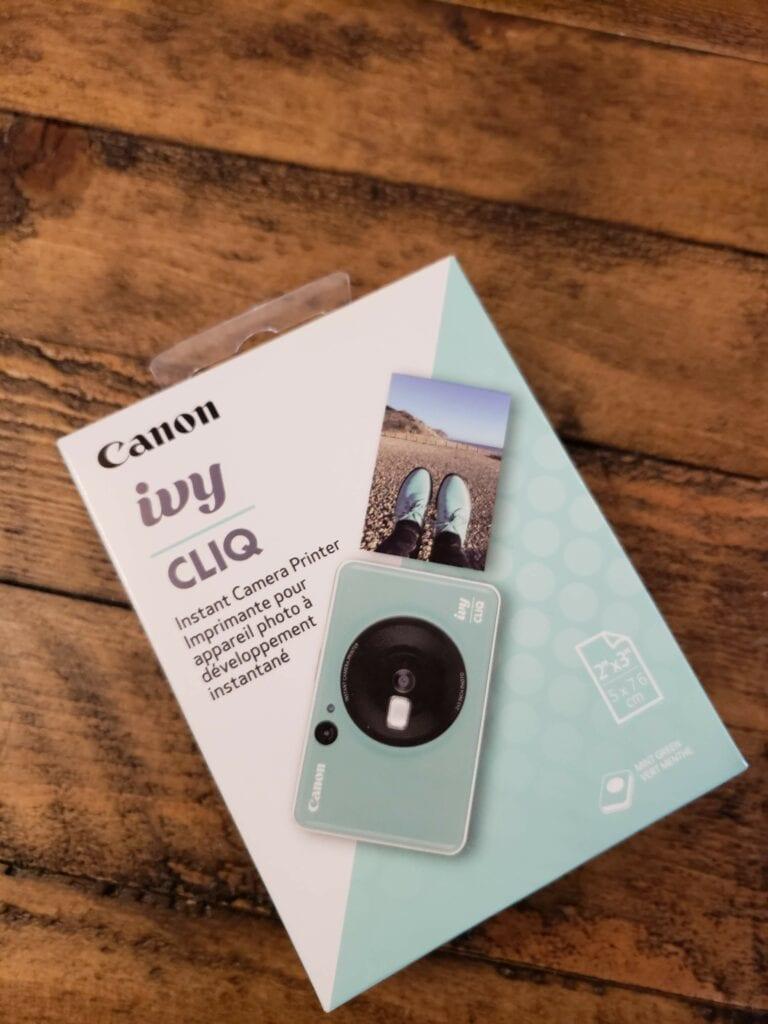 Canon IVY CLIQ & CLIQ+ instant print cameras
