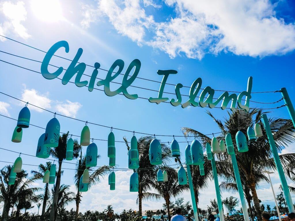 Chill Island Royal Caribbean