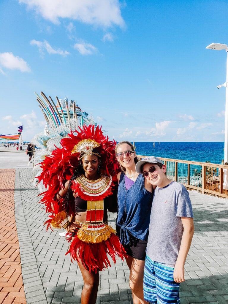 royal Caribbean cruise family
