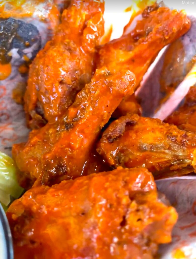 Chicken wings at cococay