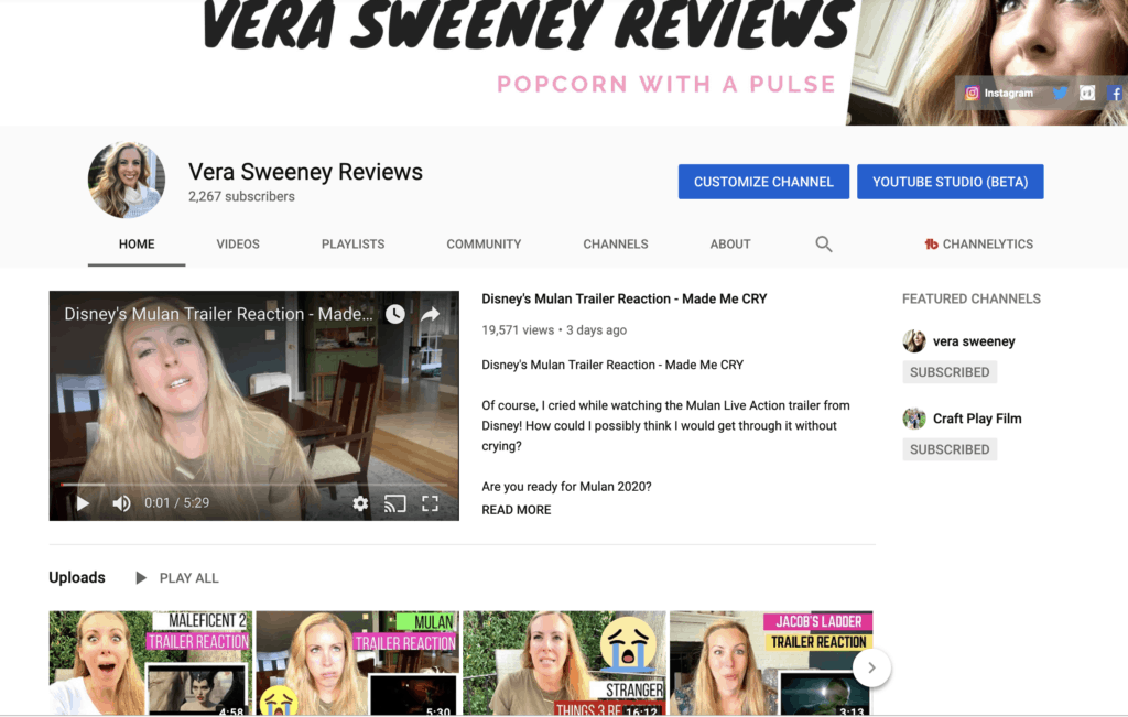 Vera Sweeney Reviews