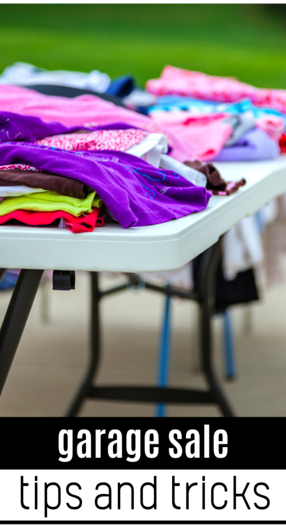 garage sale tips to make the most money