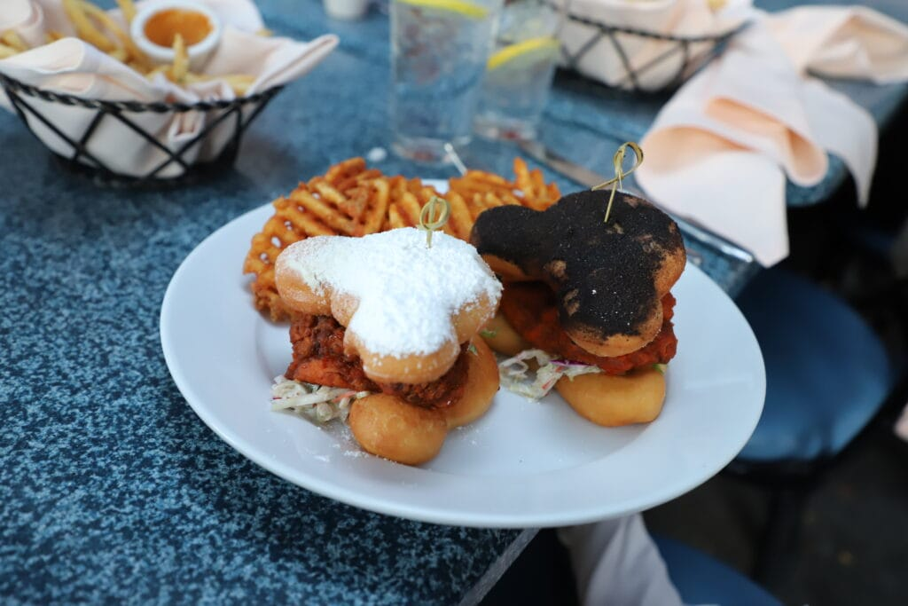 disney shaped desserts