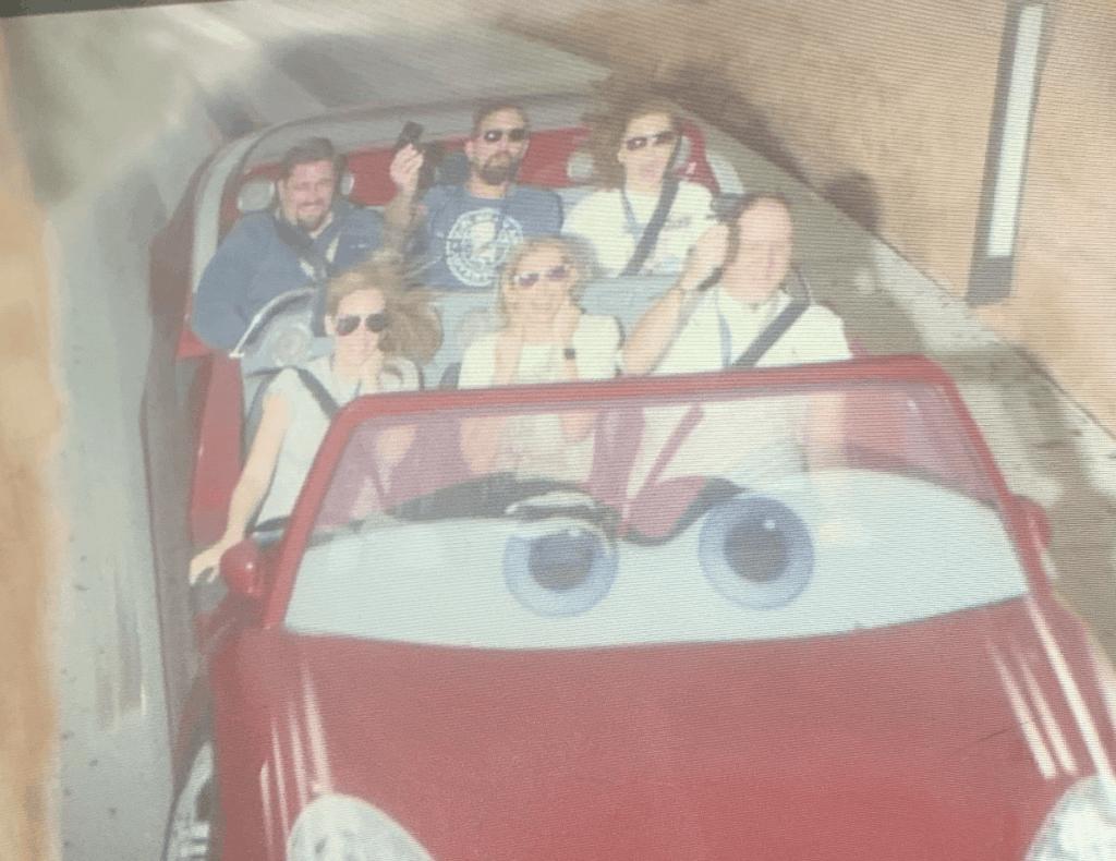 Cars Land ride photo
