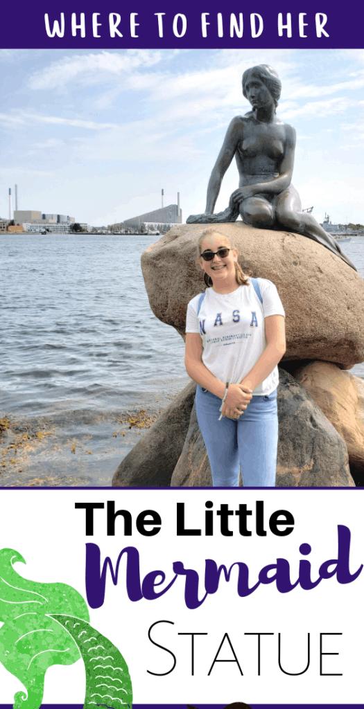 little mermaid Copenhagen statue
