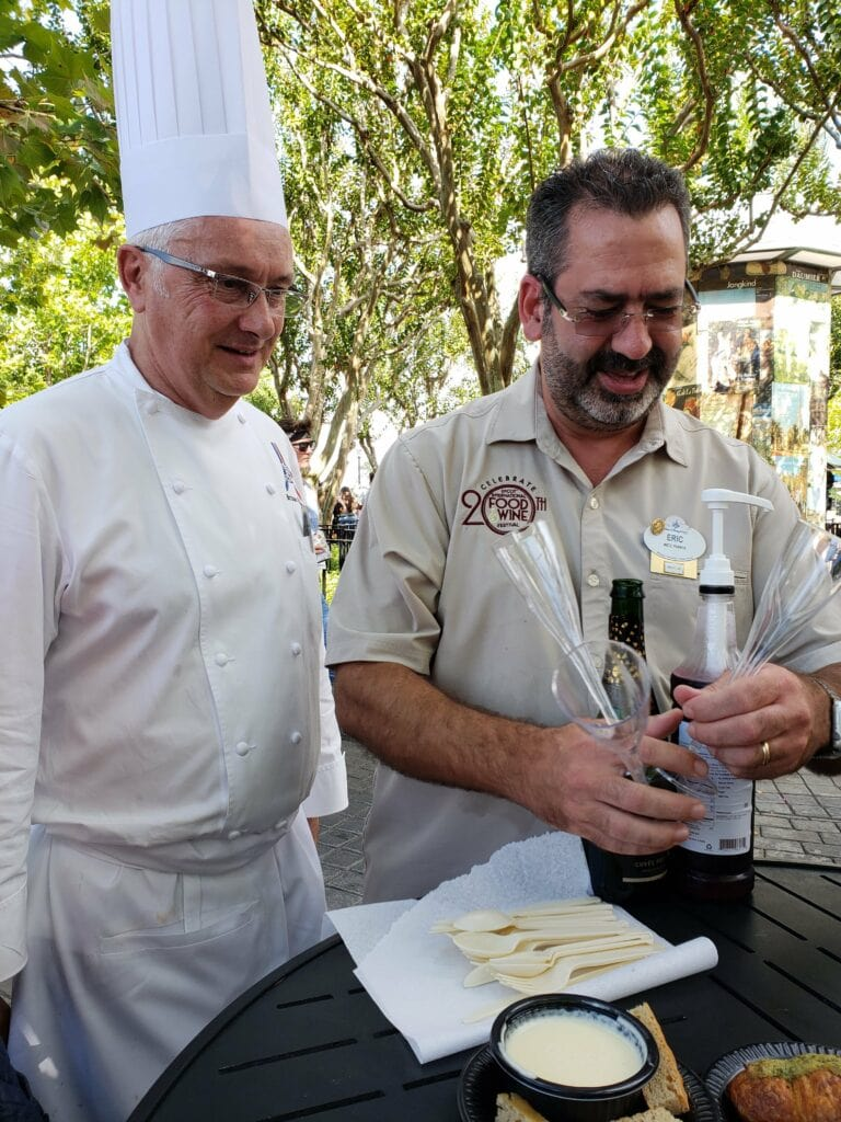France GM and head chef Epcot