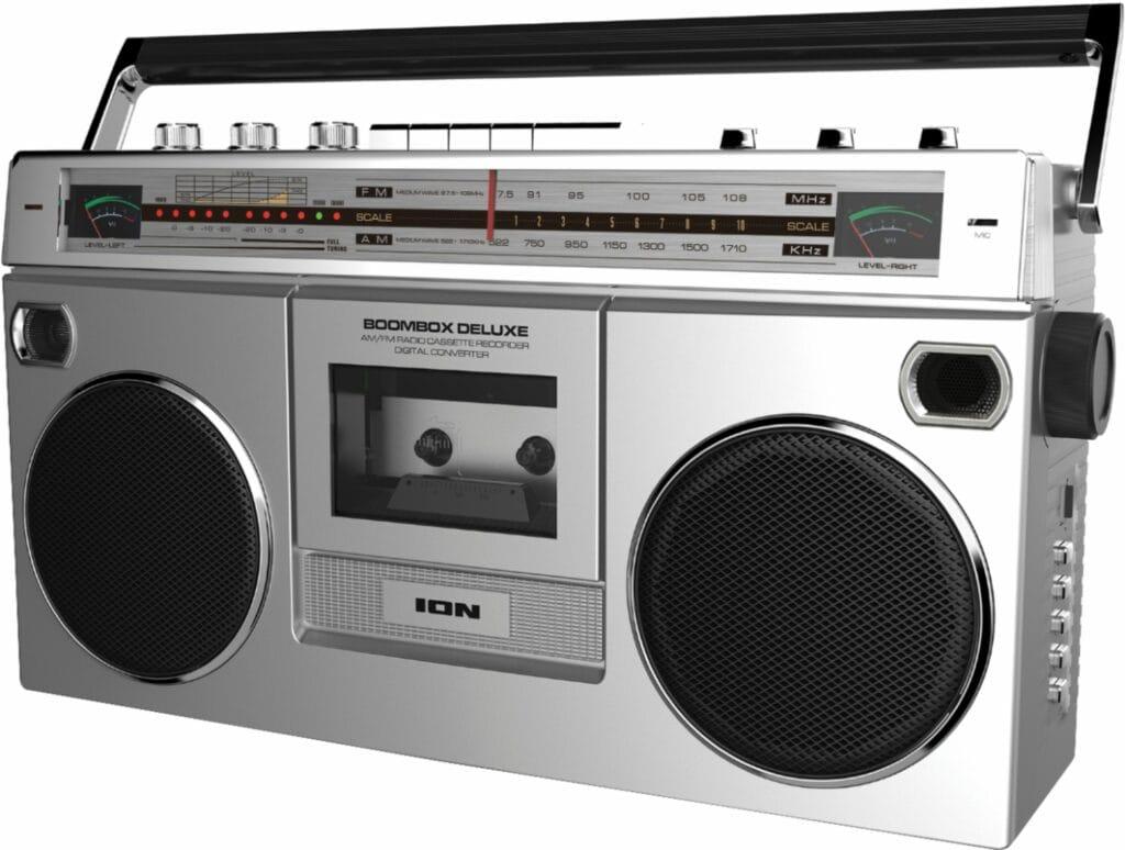 ION Boombox Deluxe Bluetooth Speaker