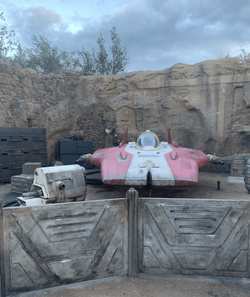 photo opportunities at Galaxy's Edge