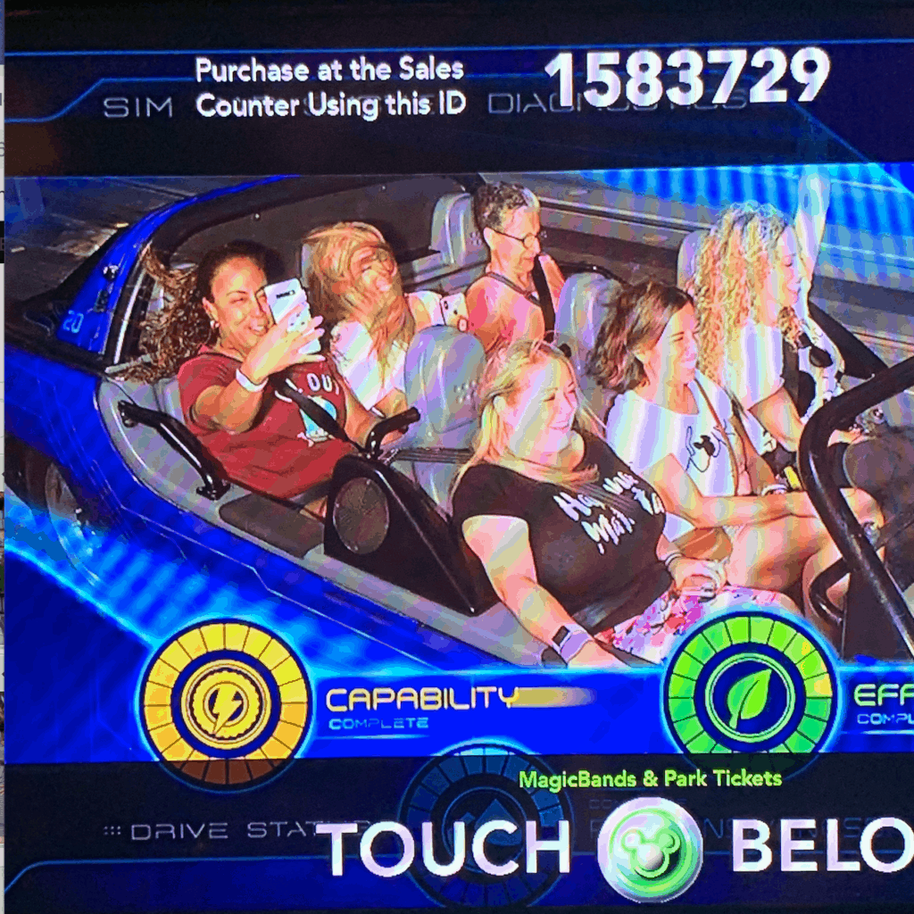 Test Track Photo Epcot