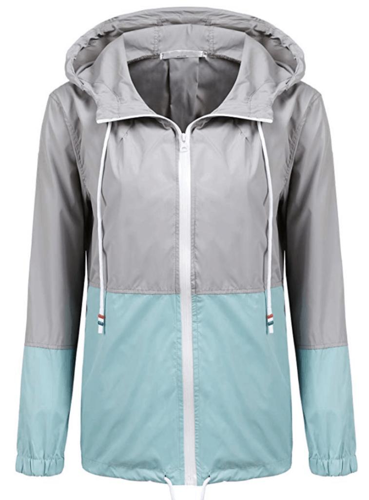 rain jacket for overnight camp