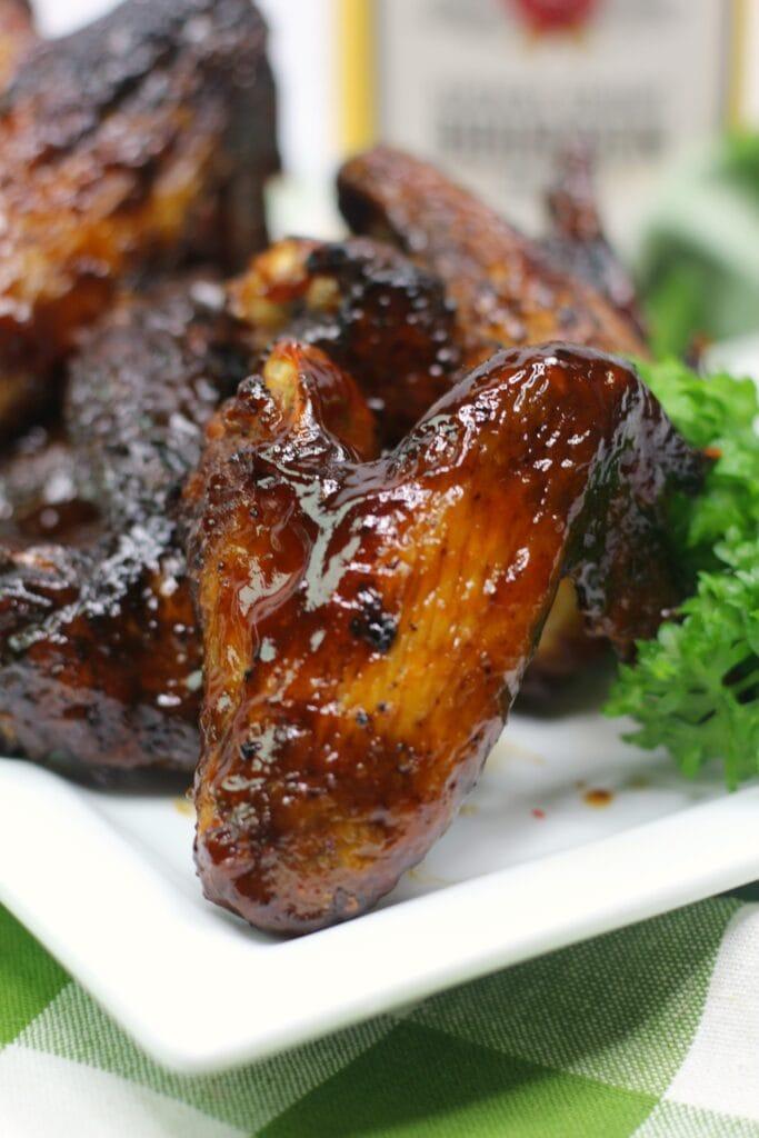 Bourbon chicken wings recipe