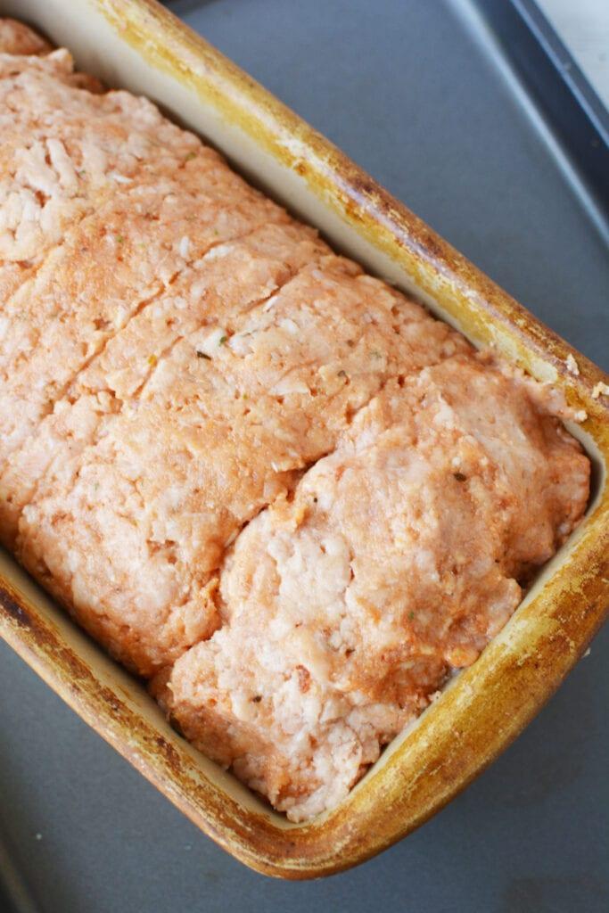 bake easy meatloaf in pan for 45 minutes