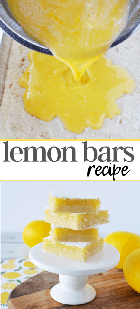 Easy Lemon Bars Recipe In Under 30 Minutes