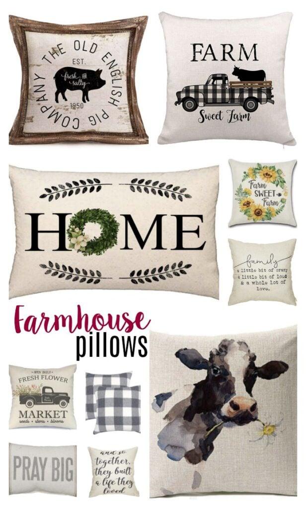 farmhouse pillows