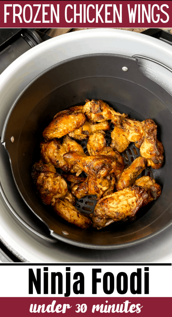 Frozen Chicken Wings Recipe Made with the Foodi