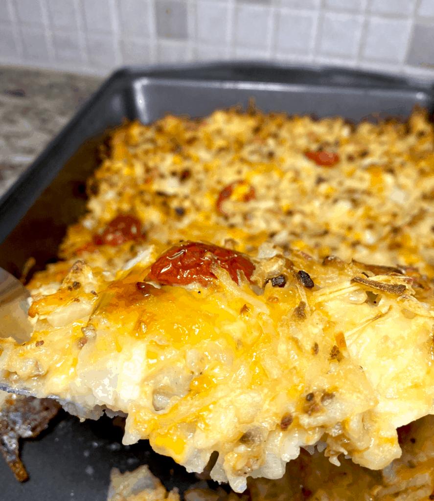 breakfast cheesy casserole