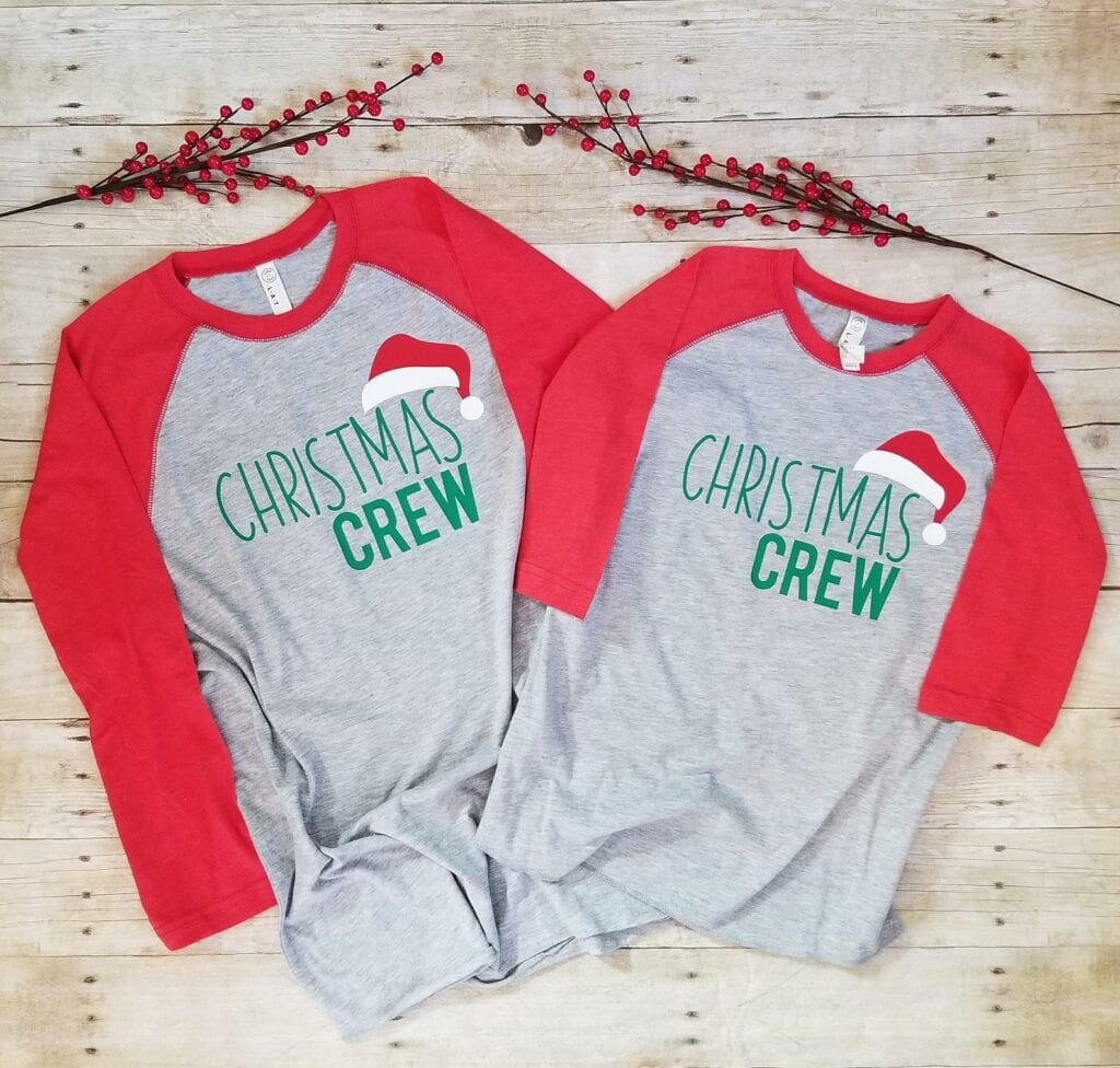 christmas crew shirt
