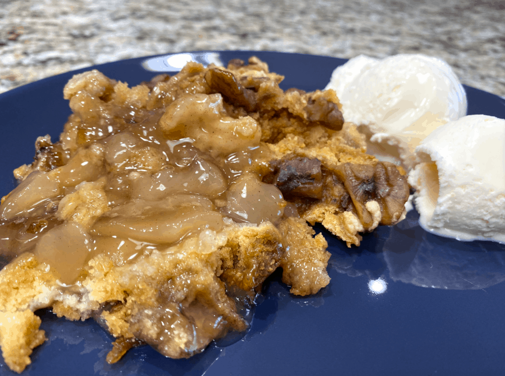 crockpot cake mix cobbler