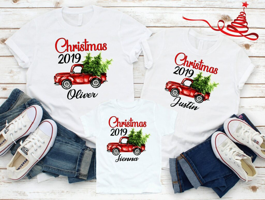 Christmas T shirts for family