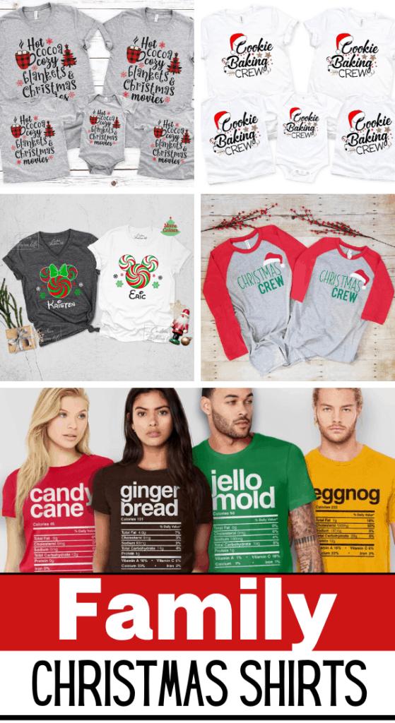 Matching Family Christmas Shirts