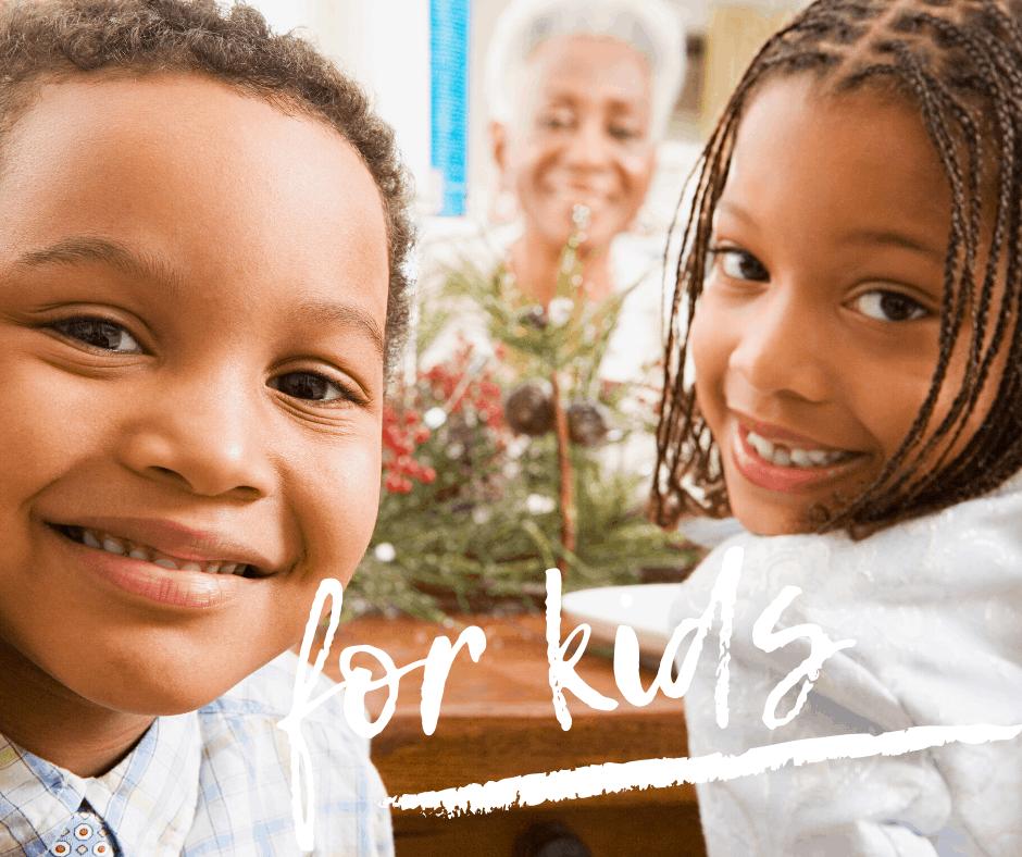 Christmas DInner prayers for Kids