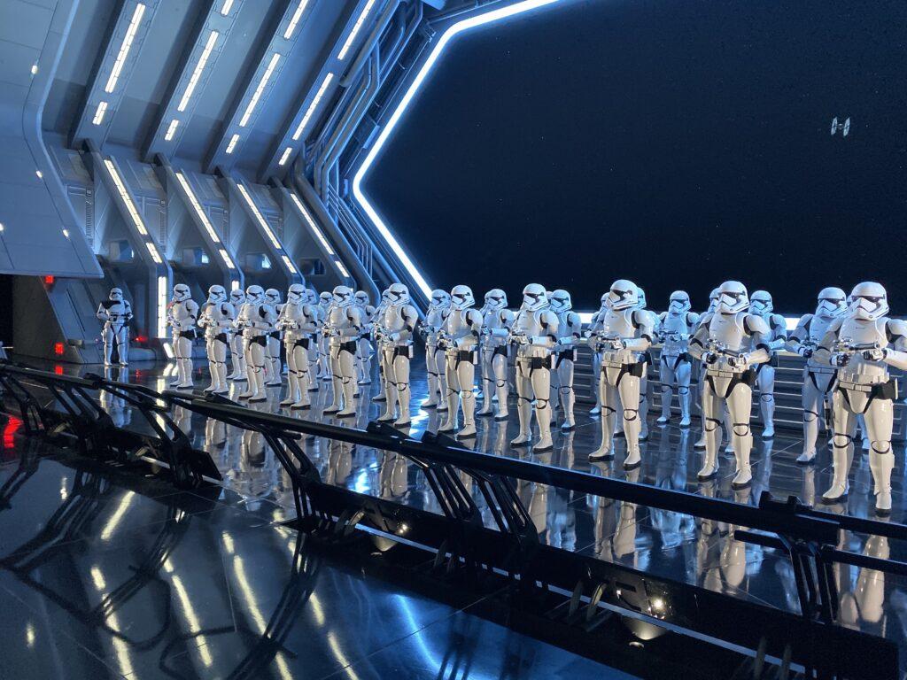 stormtroopers line up robots