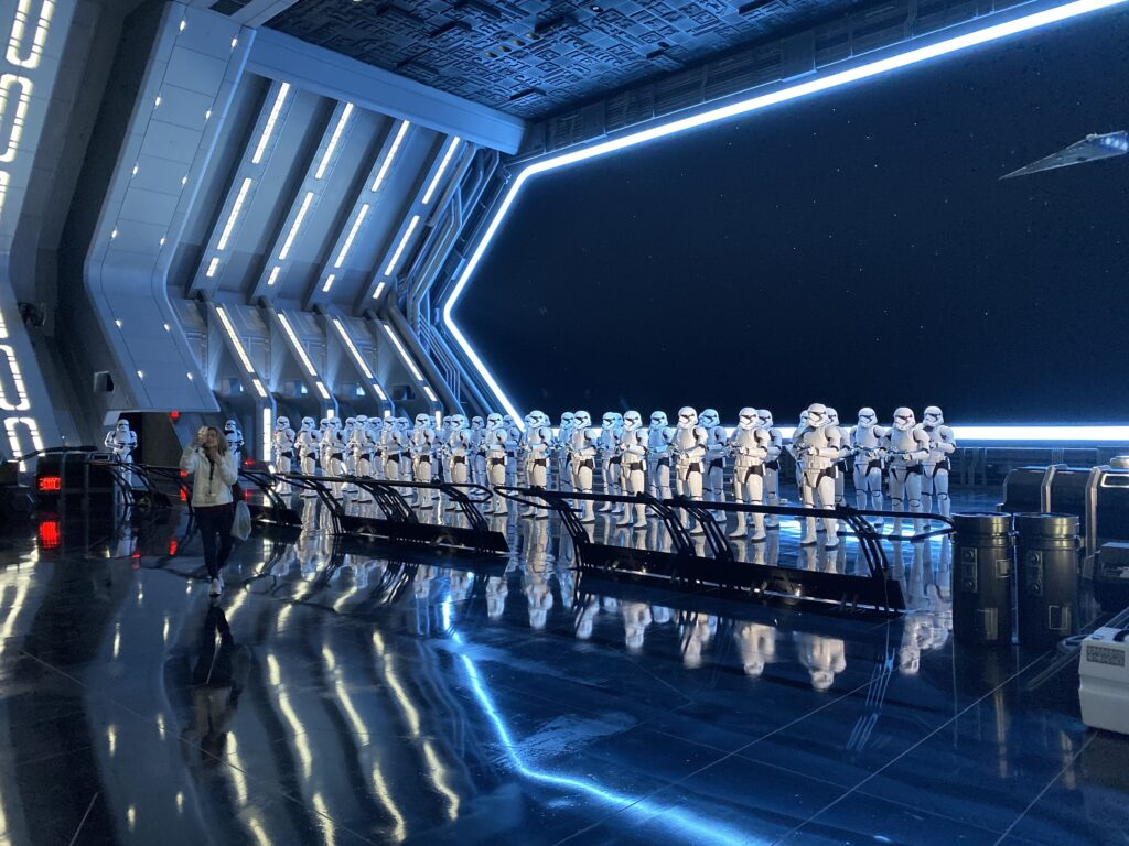 stormtrooper room rise of the resistance