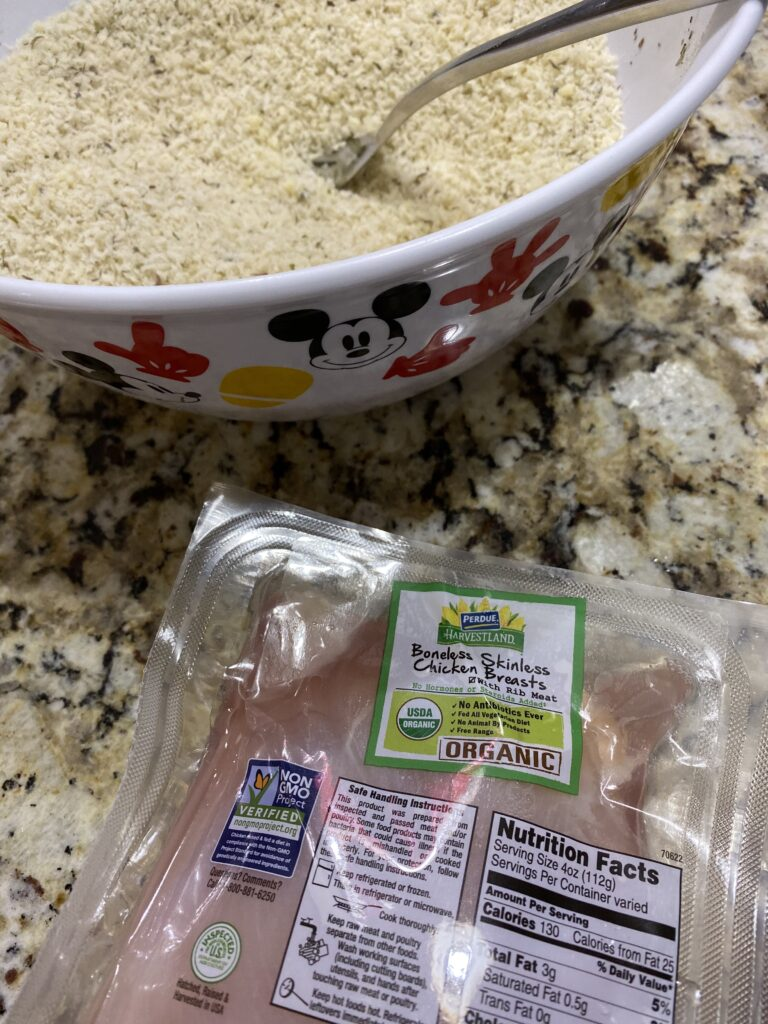 ingredients for cutlets in foodi