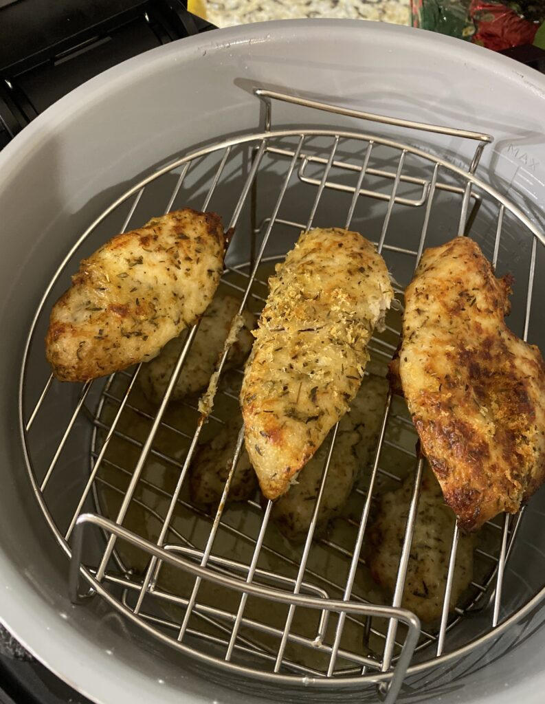 air fryer ninja foodi chicken cutlets