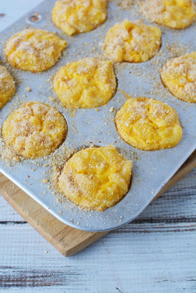 macaroni and cheese bites baked