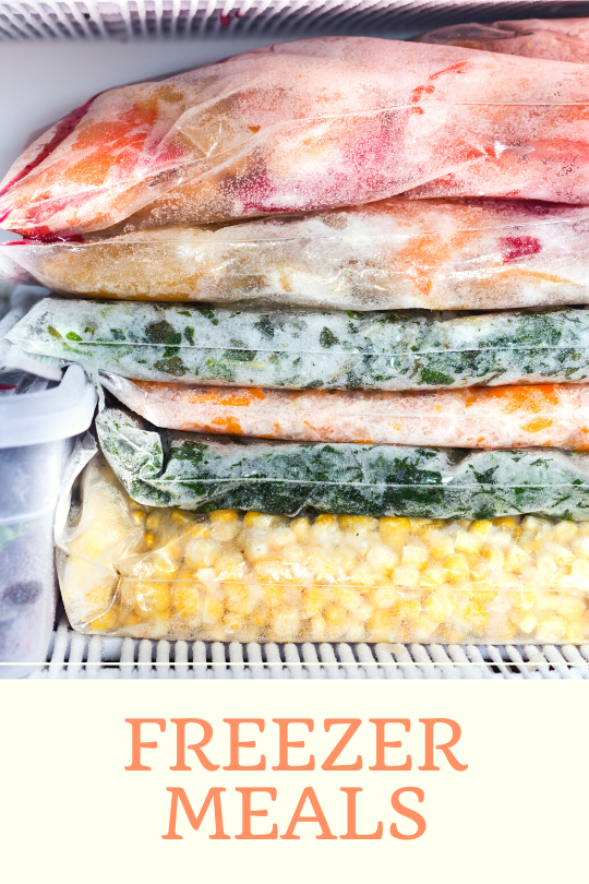 freezer meals save time and money