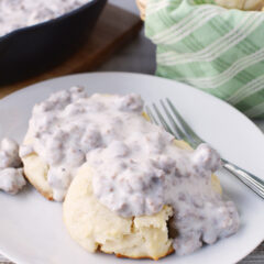 sausage and biscuits recipe