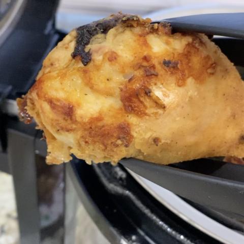 easy air fryer chicken legs recipe