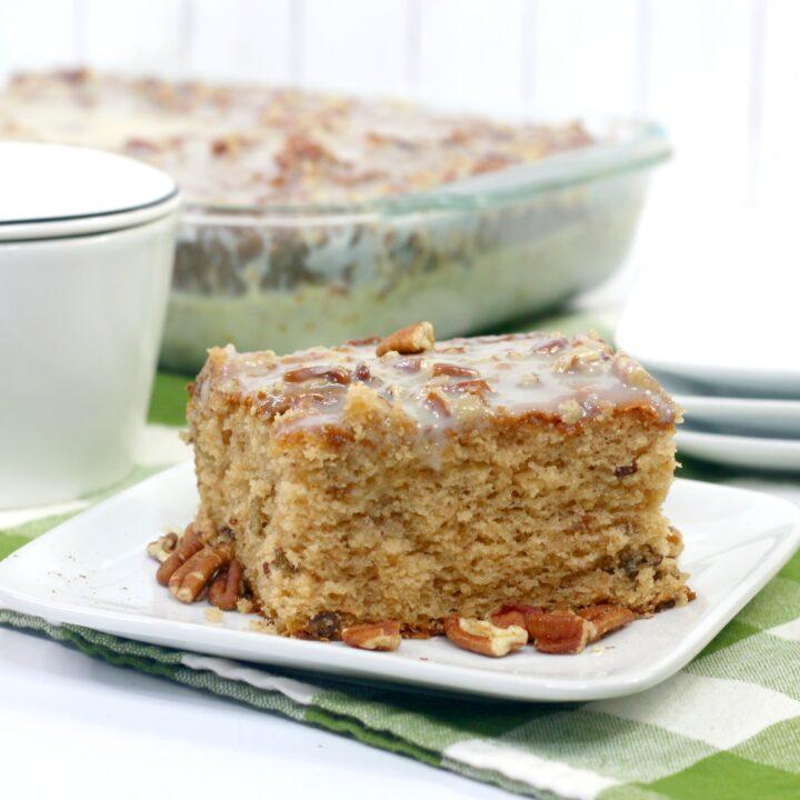 Southern Praline Cake
