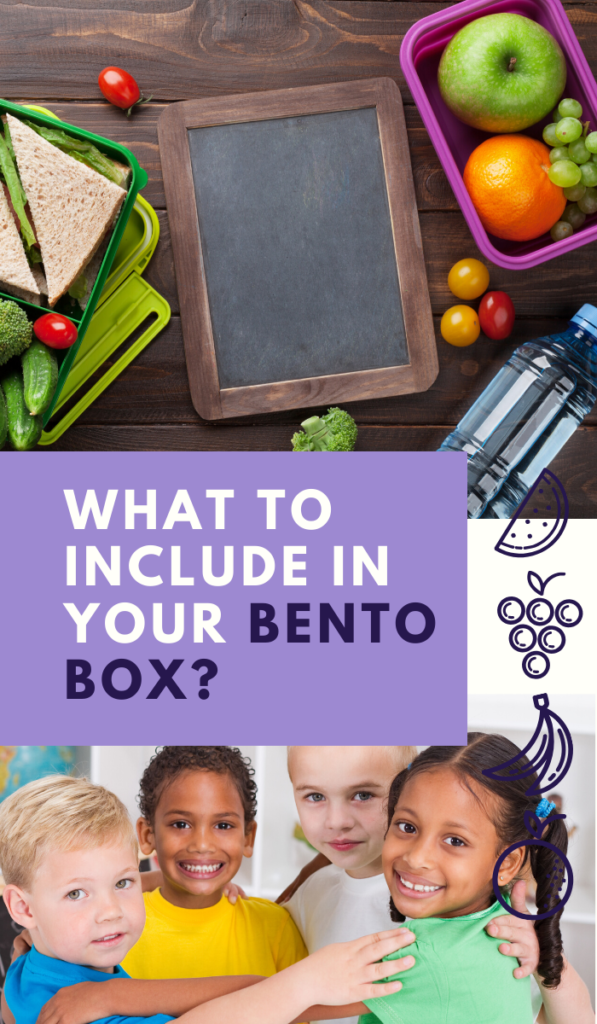 What to include in your bento box
