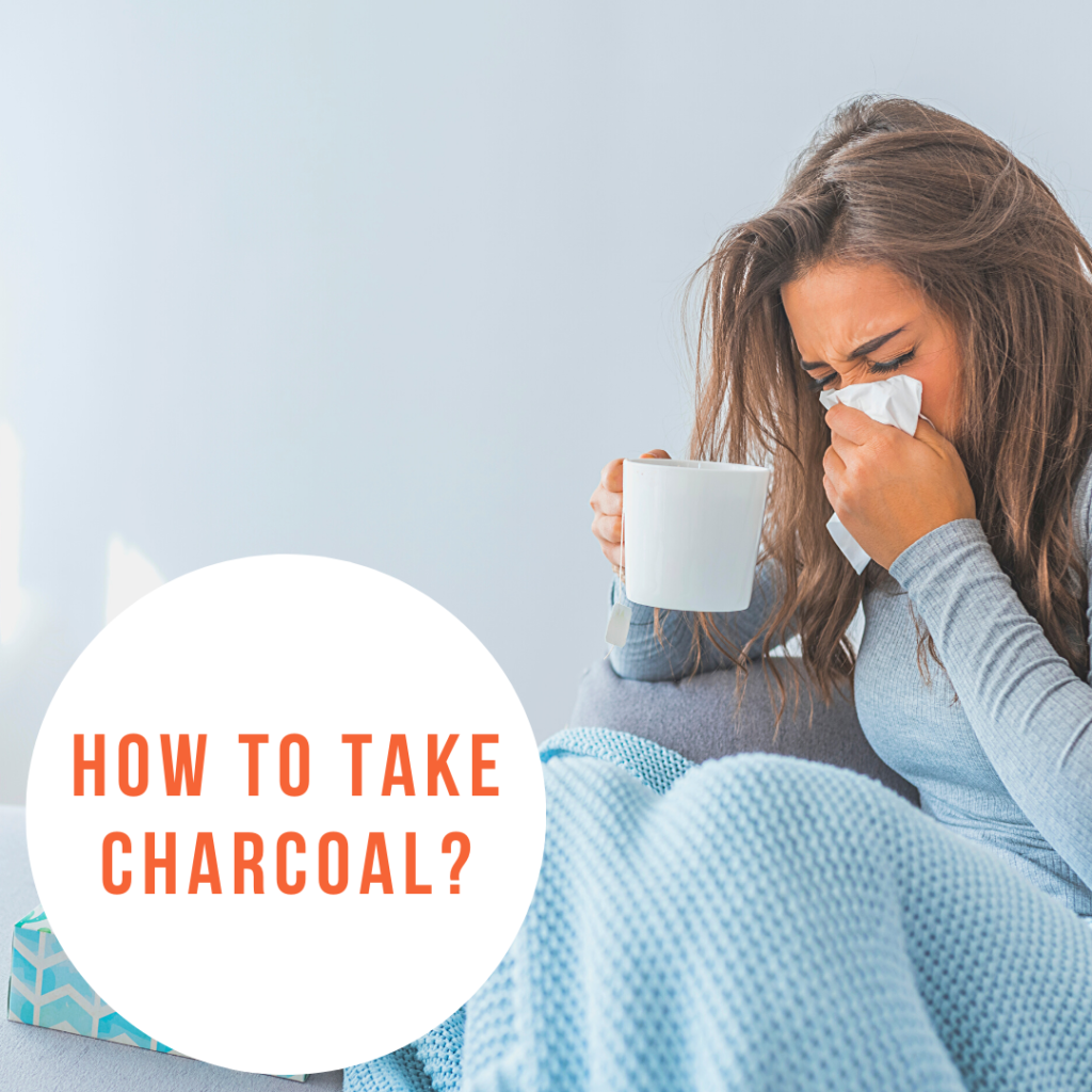 how to take charcoal