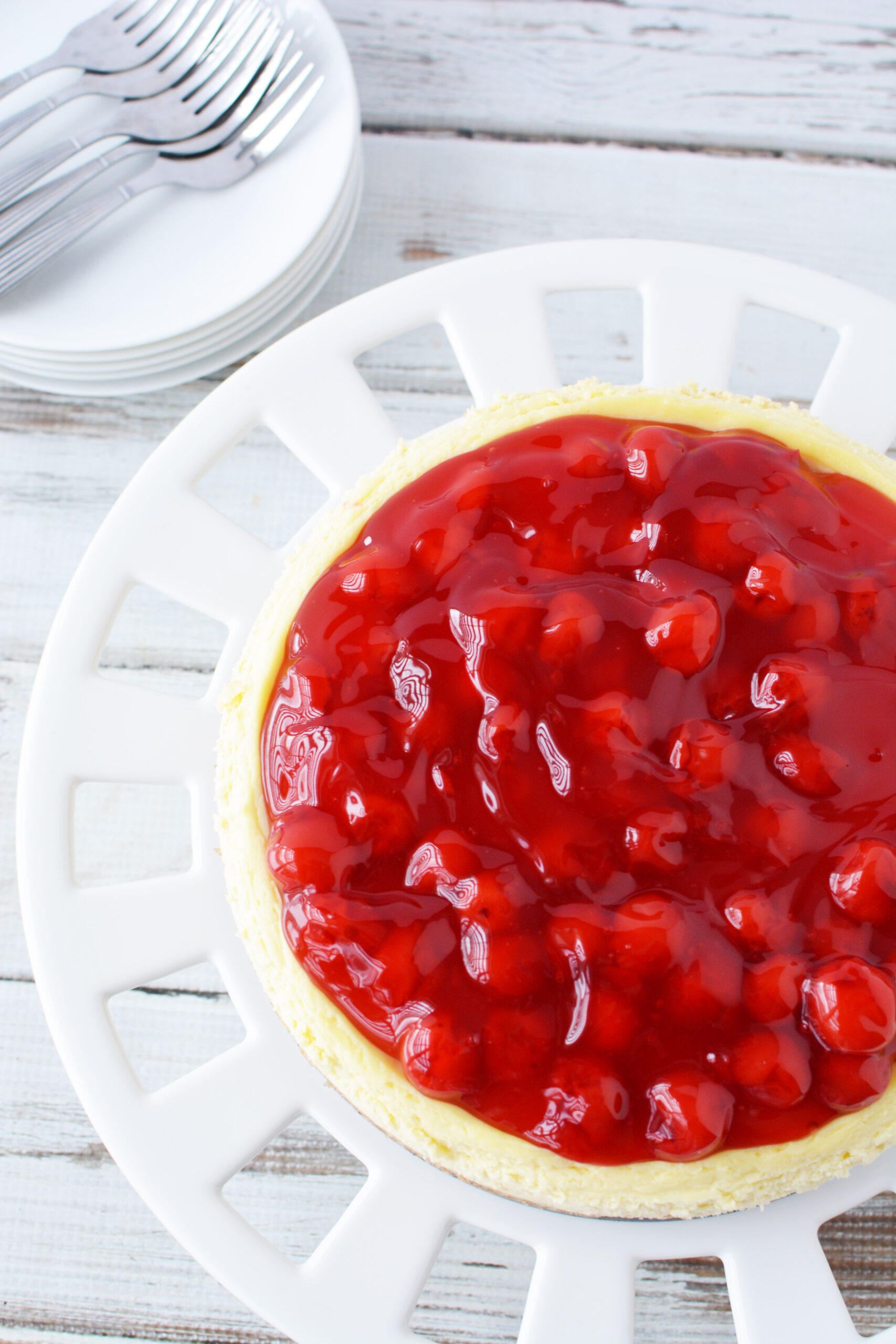 cherry cheesecake pie filling dessert