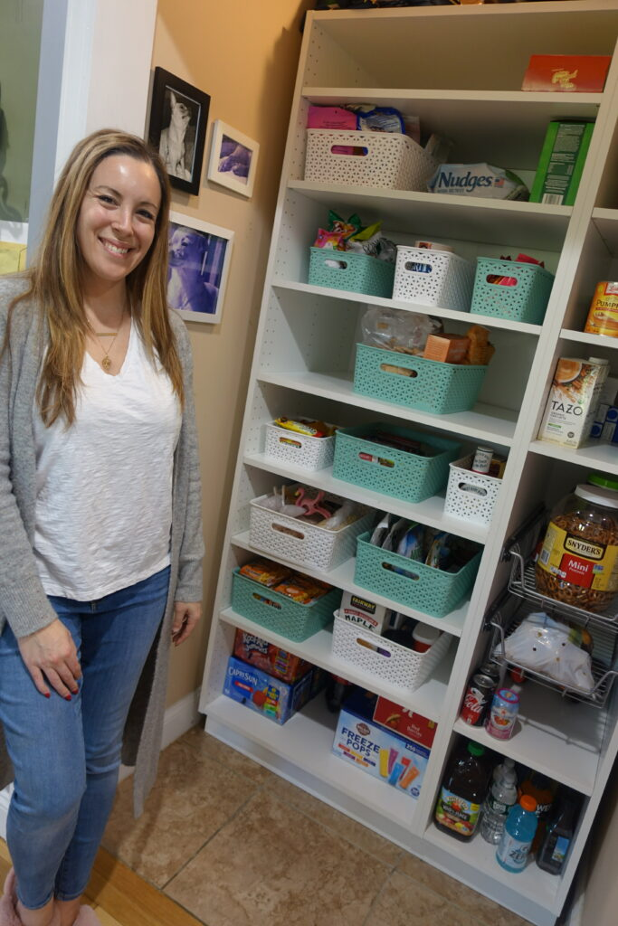 reorganize your kitchen pantry