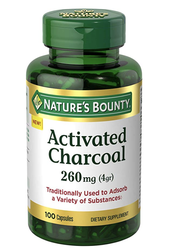 activated charcoal for stomach virus