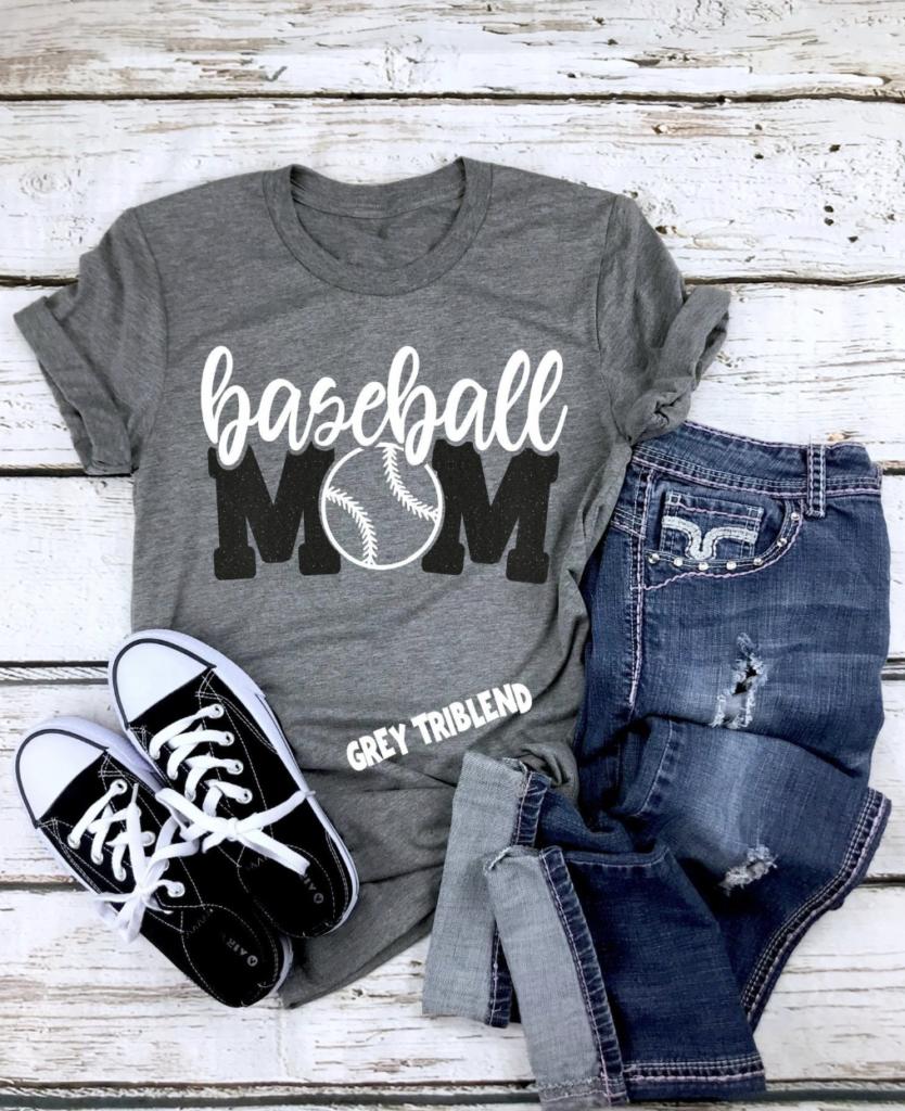 mom baseball shirts