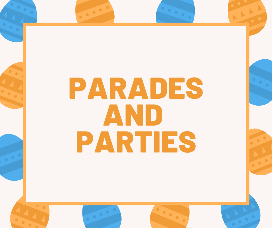 easter parades and parties