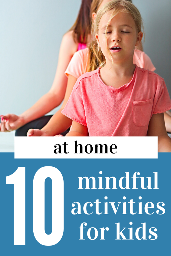 Mindful Exercises For Kids