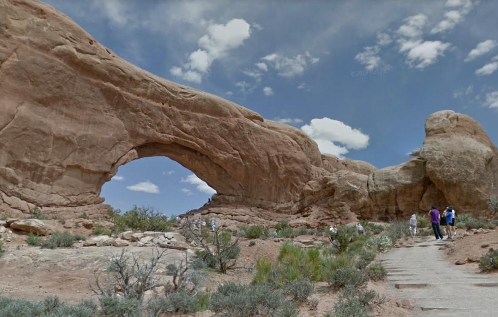 arches park virtual walkthrough
