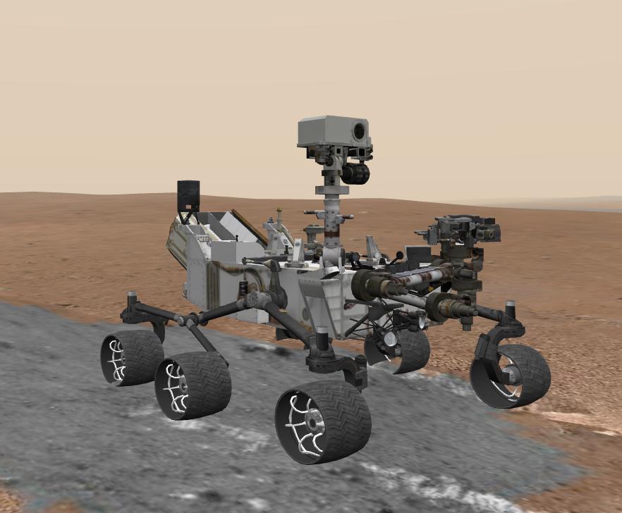 A Virtual Tour Of Mars