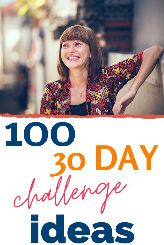 30 day challenge ideas