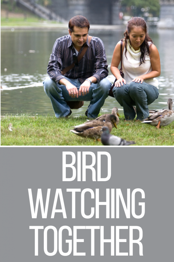 bird watching together as a couple