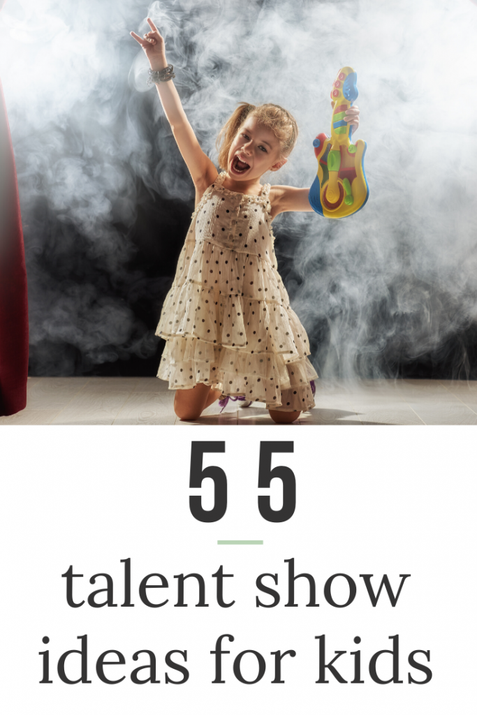 talent shows for kids