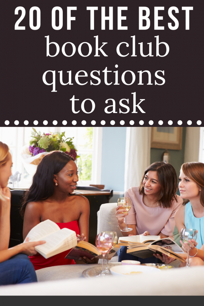 20 of the best book discussion questions
