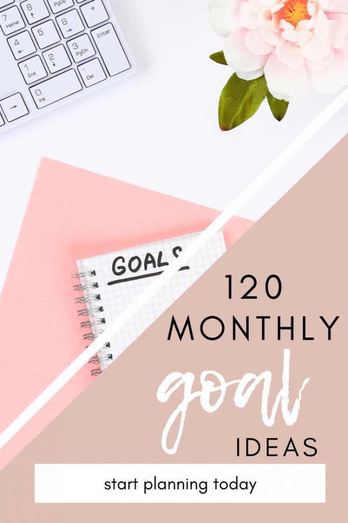monthly goal ideas